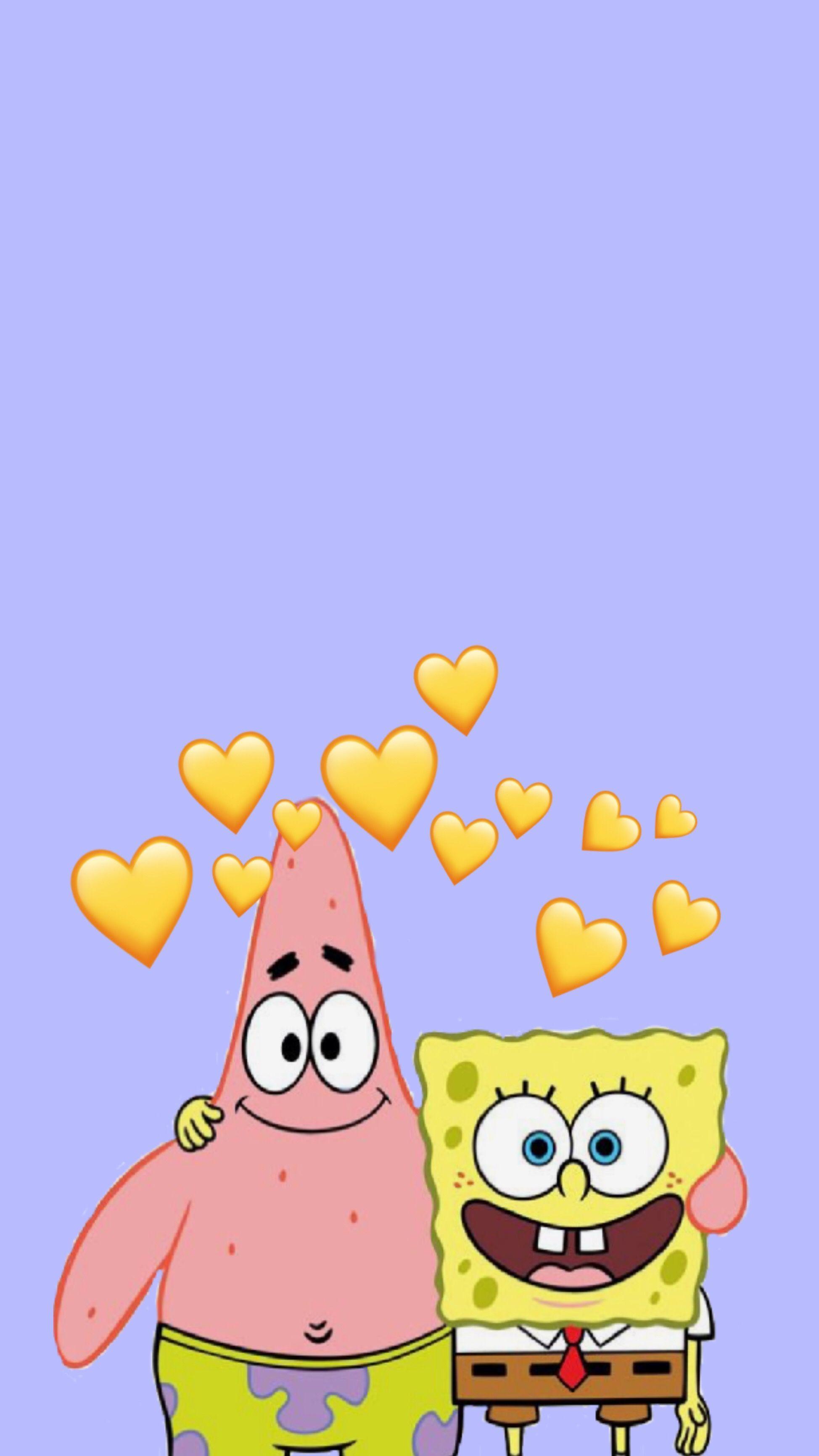 Spongebob Iphone Wallpapers Wallpaper Cave