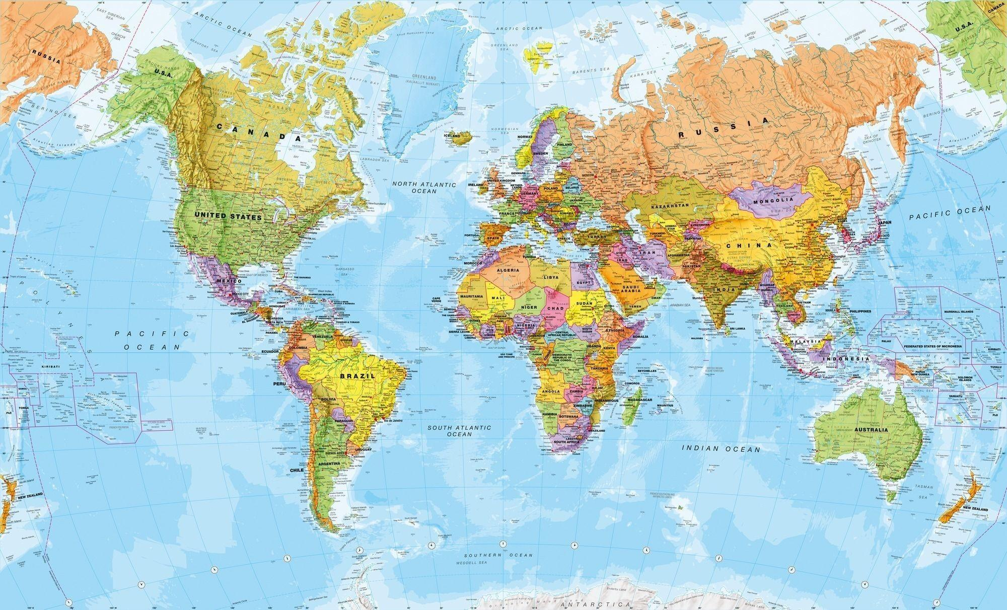 World Map 4k Desktop Wallpapers - Wallpaper Cave