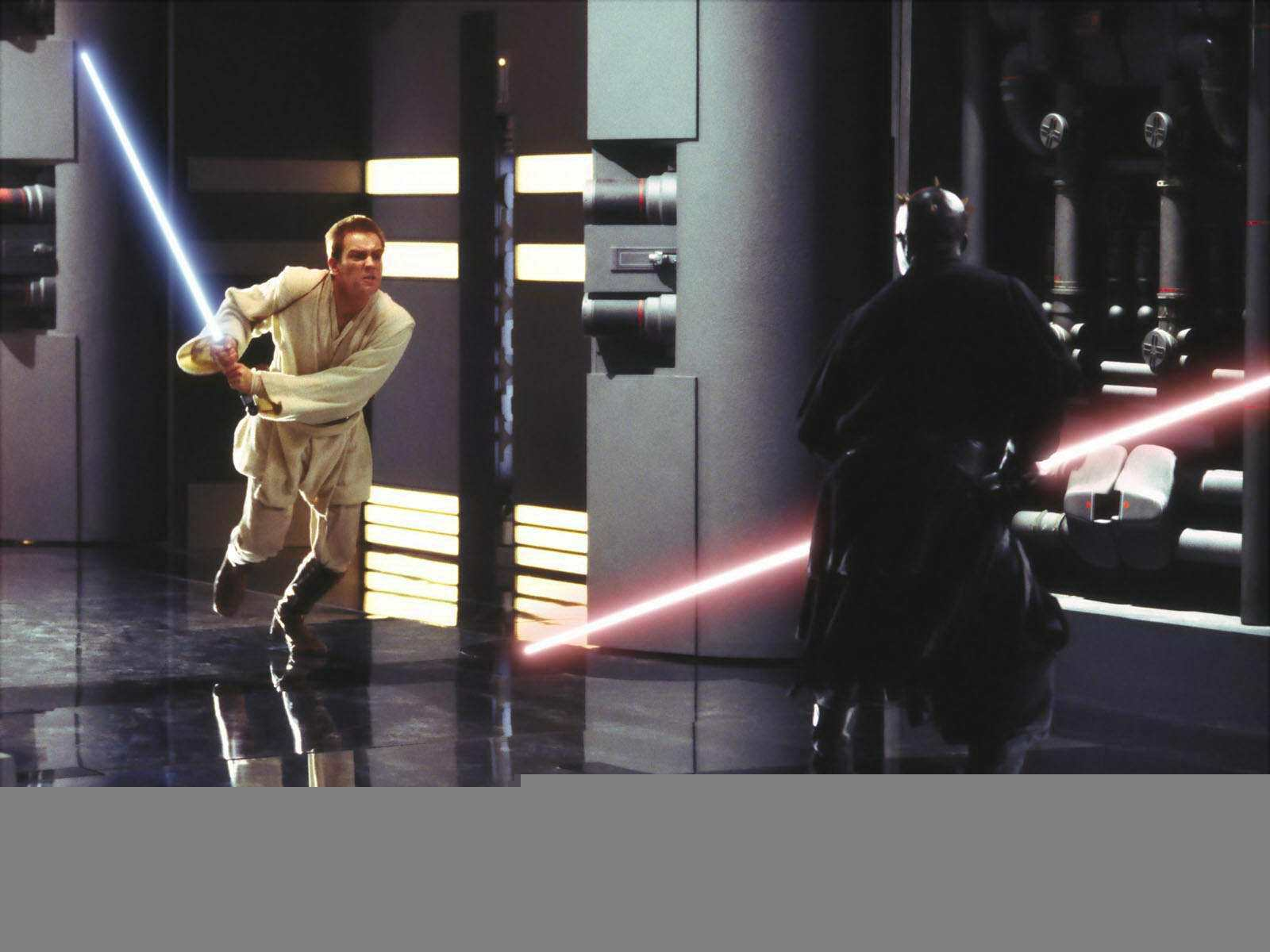 Darth Maul Vs Obi Wan Kenobi Wallpapers Wallpaper Cave