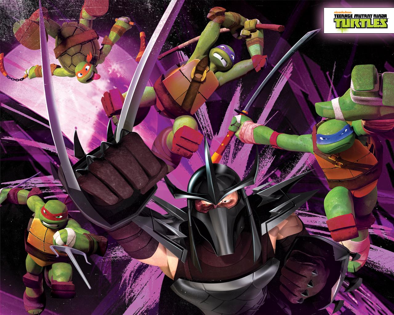 Teenage Mutant Ninja Turtles Vs Shredder Wallpapers Wallpaper Cave