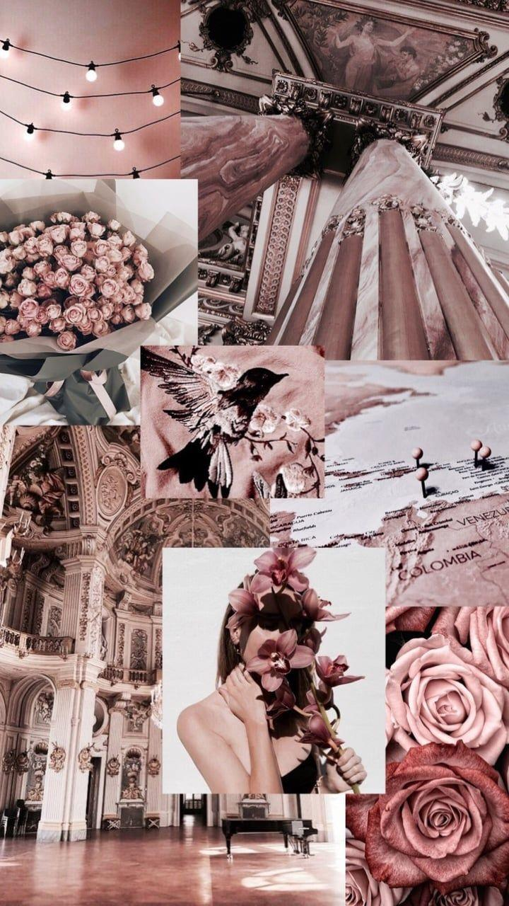 Roses Aesthetic Collages Wallpapers Wallpaper Cave