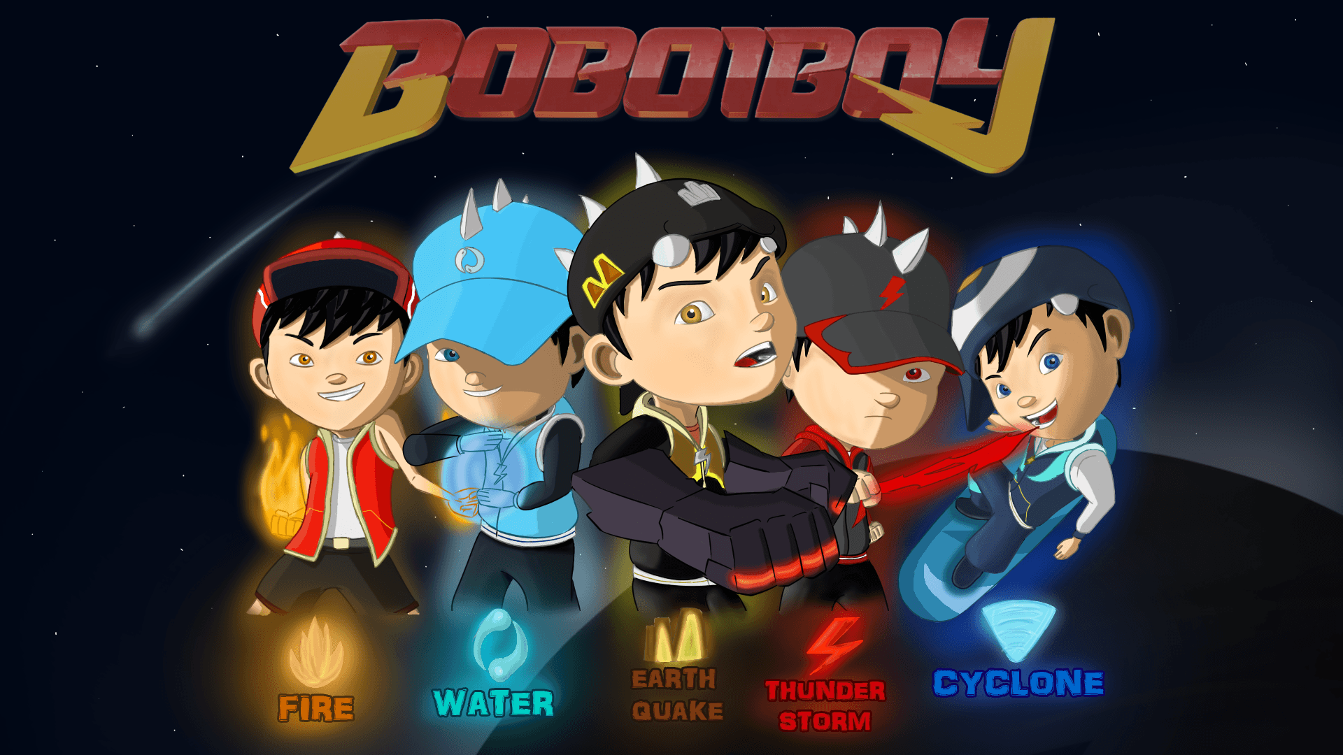 Boboiboy Ice Anime HD Wallpapers Wallpaper Cave