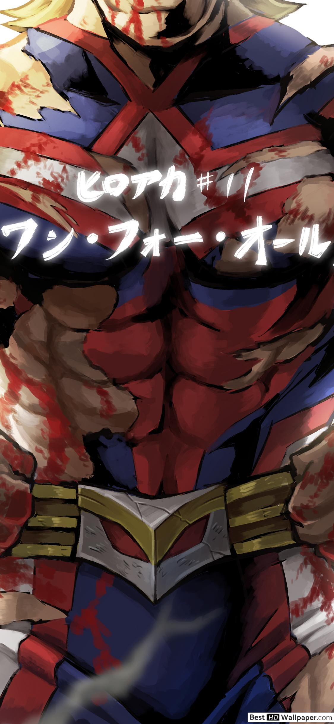 All Might iPhone HD Wallpapers - Wallpaper Cave