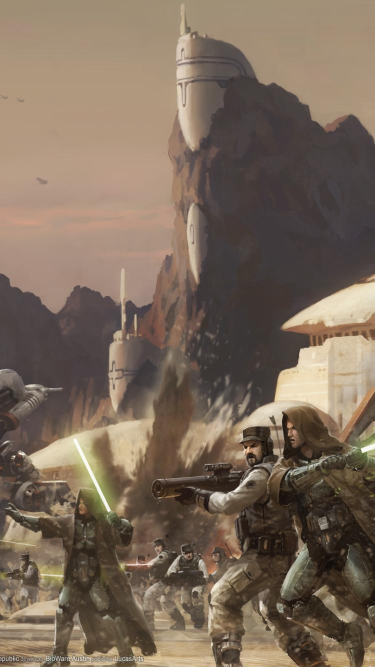 Hd Star Wars Old Republic Phone Wallpapers Wallpaper Cave