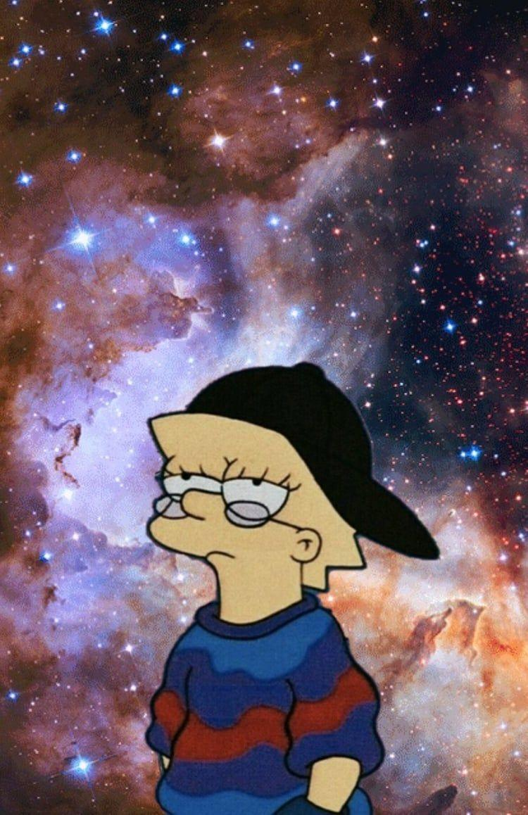 Lisa Simpson Aesthetic Crying Wallpapers Wallpaper Cave
