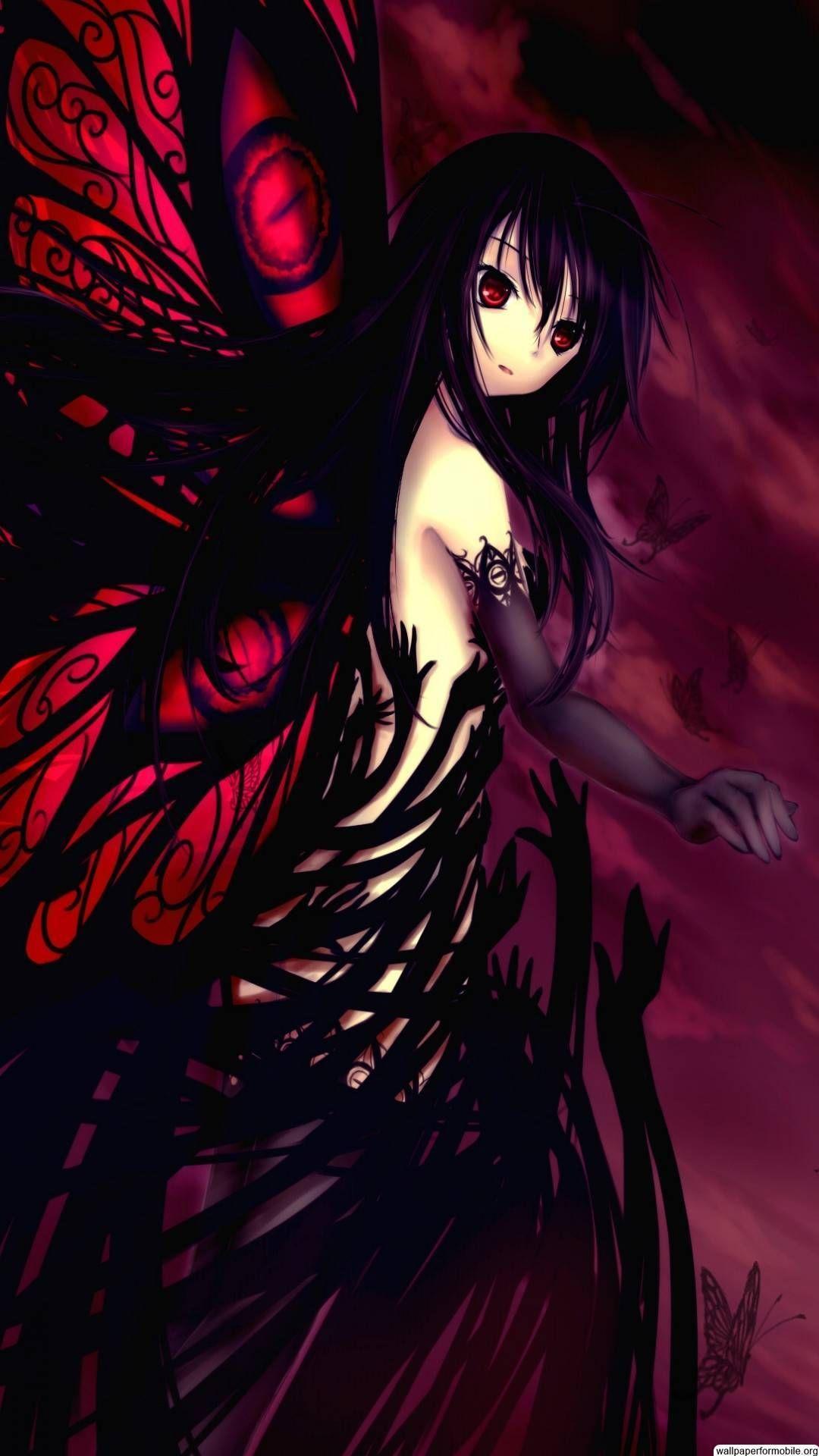 Dark Girl Fanart Anime Wallpapers Wallpaper Cave