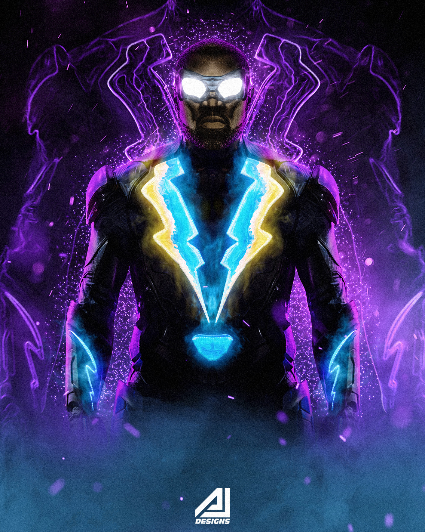 User account requiredBlack Lightning Wallpapers