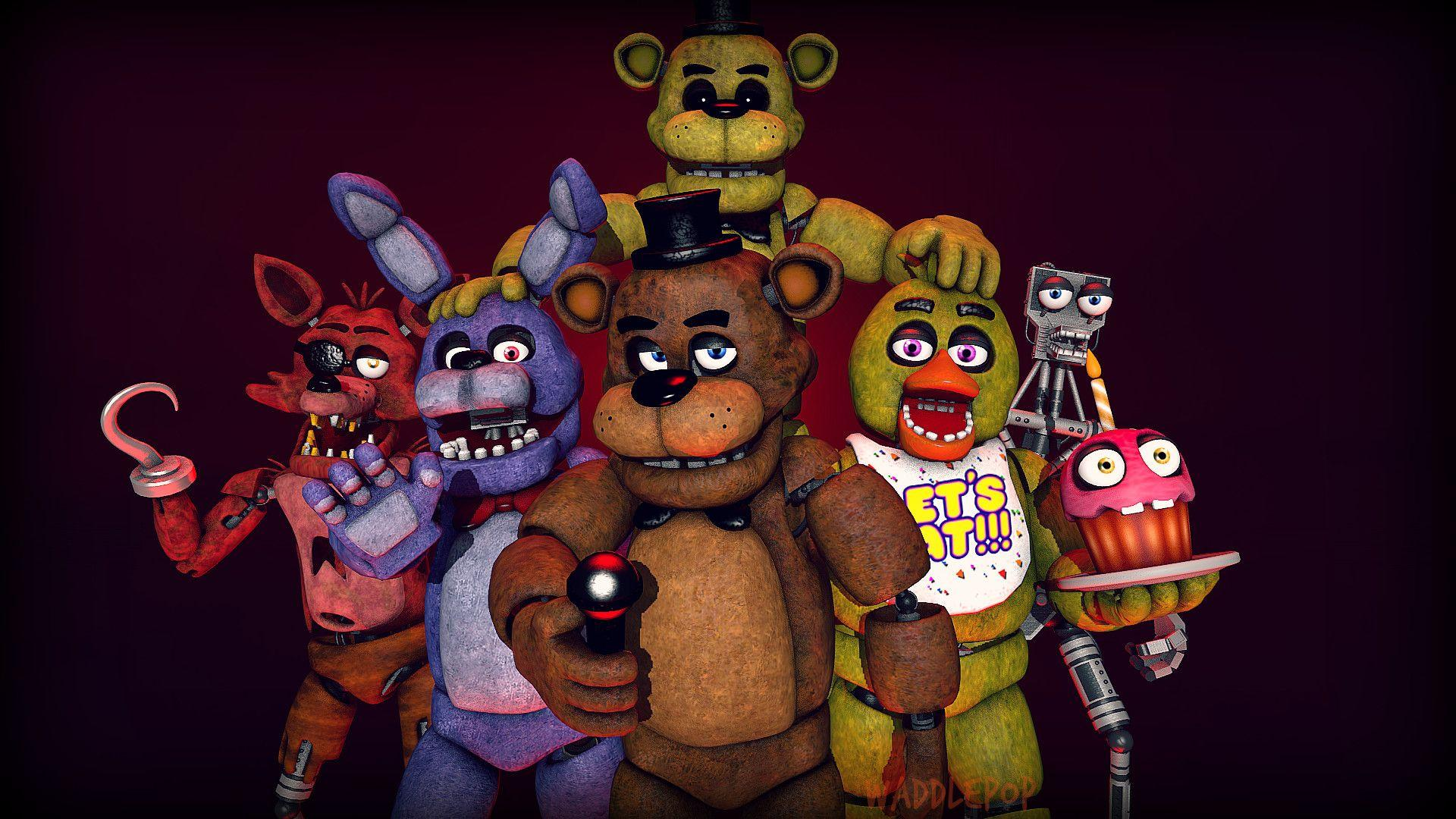 Five Nights At Freddy's Stage FNAF 1 Wallpapers ...