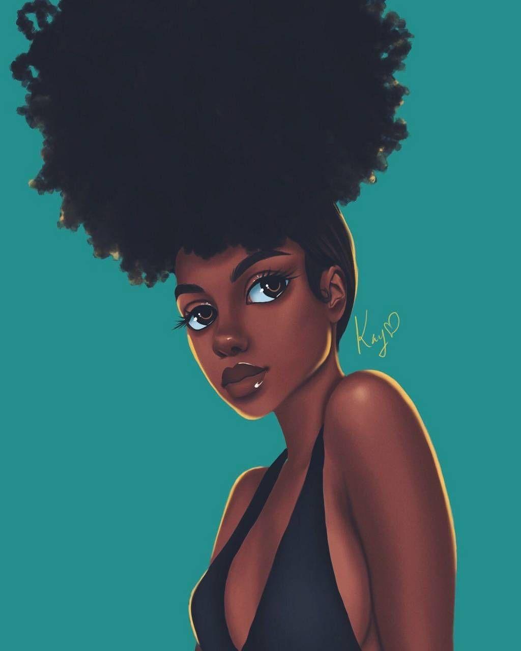 Cute Black Girl Drawings Wallpapers Wallpaper Cave