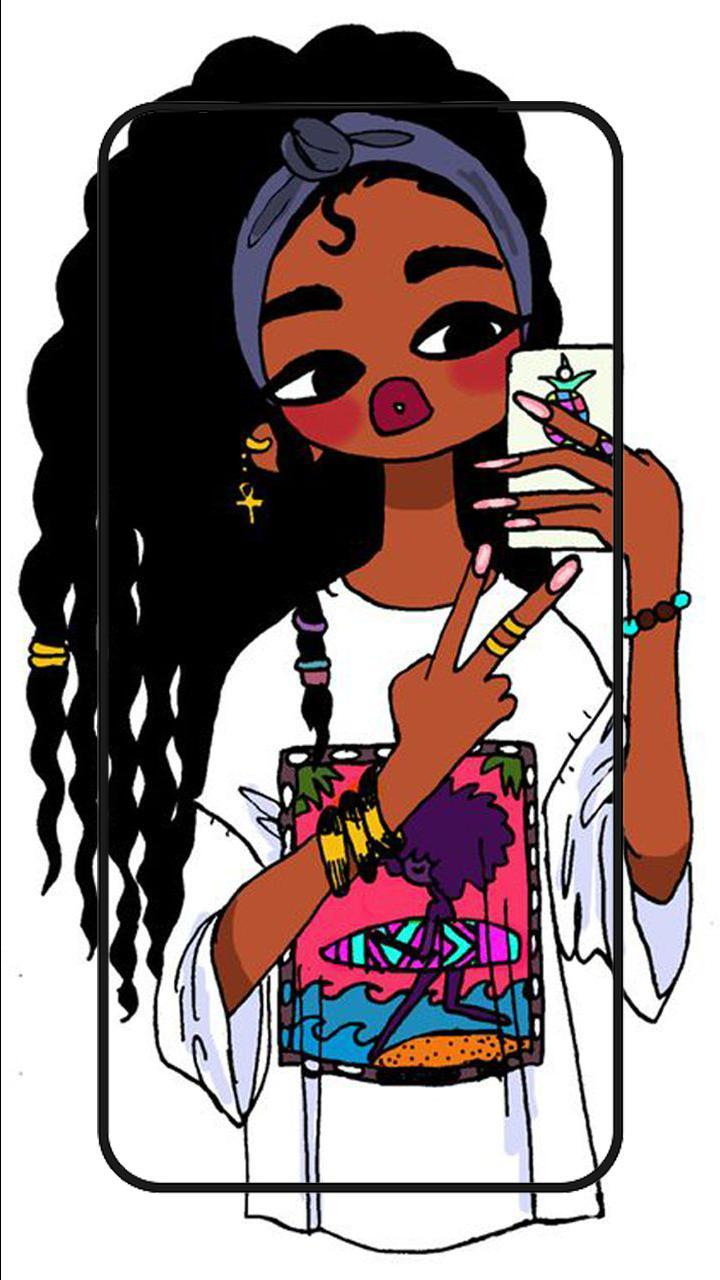Girly Black Girls Wallpapers Wallpaper Cave