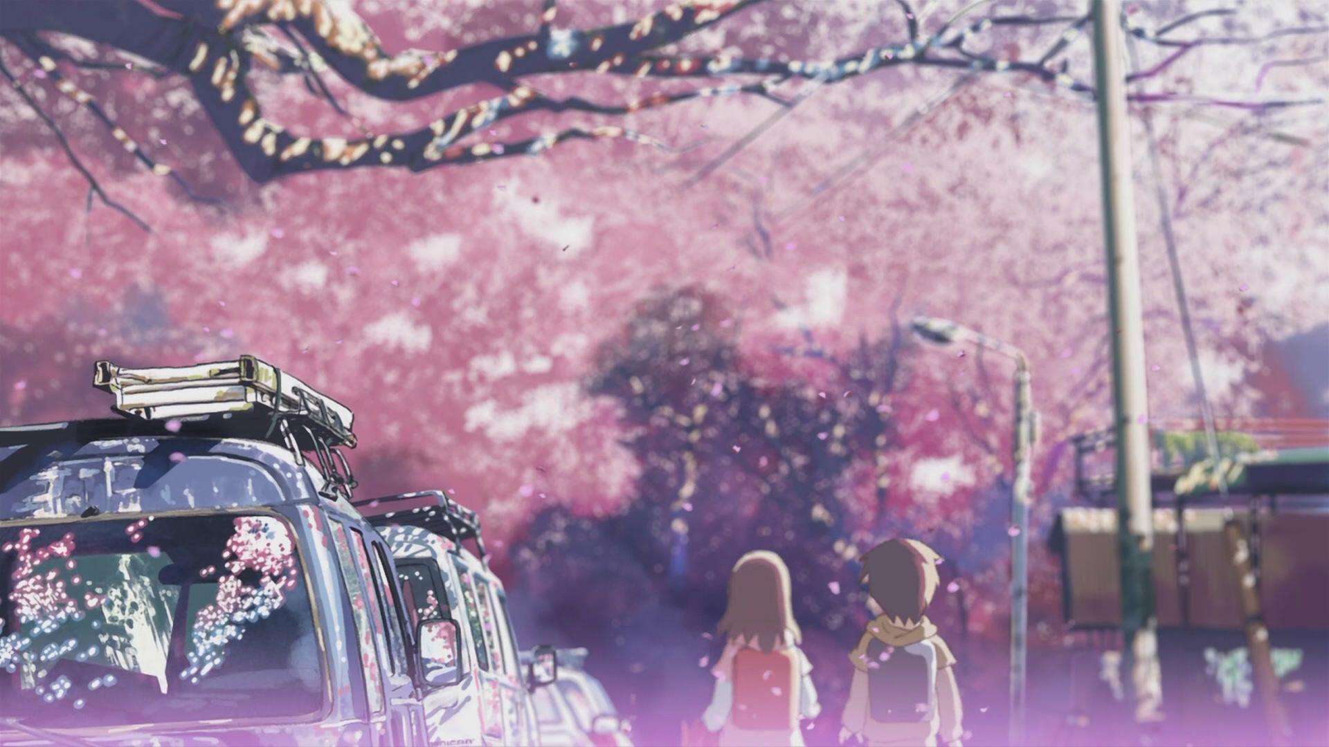 Pink Anime Desktop Wallpapers Wallpaper Cave