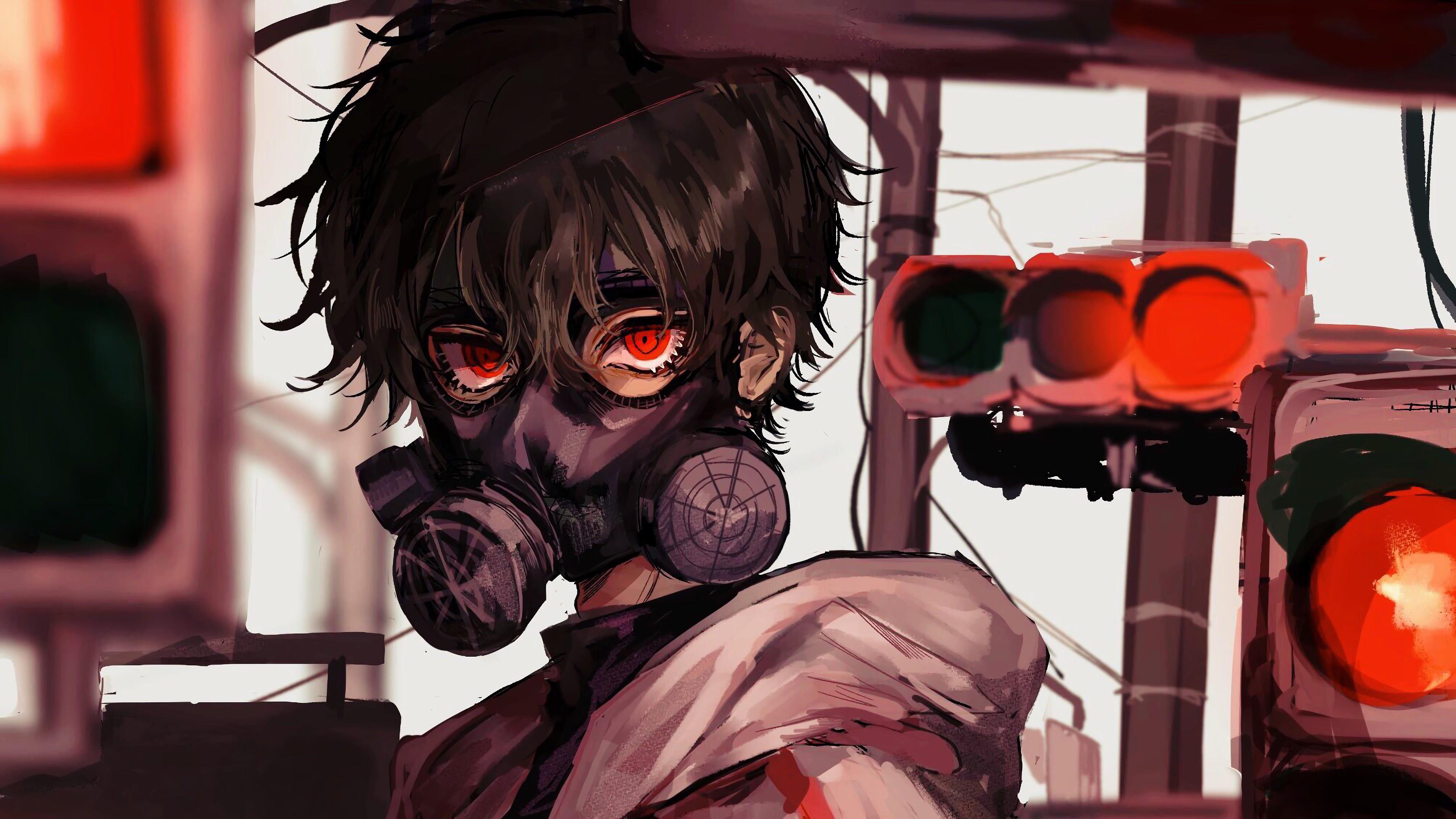 Mask Badass Anime Boy Wallpapers - Wallpaper Cave