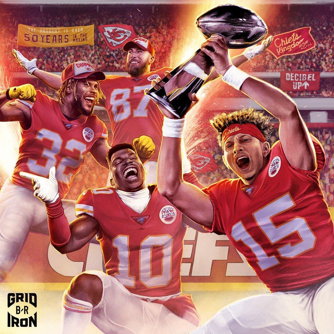 Kansas City Chiefs Super Bowl 54 Wallpapers Wallpaper Cave