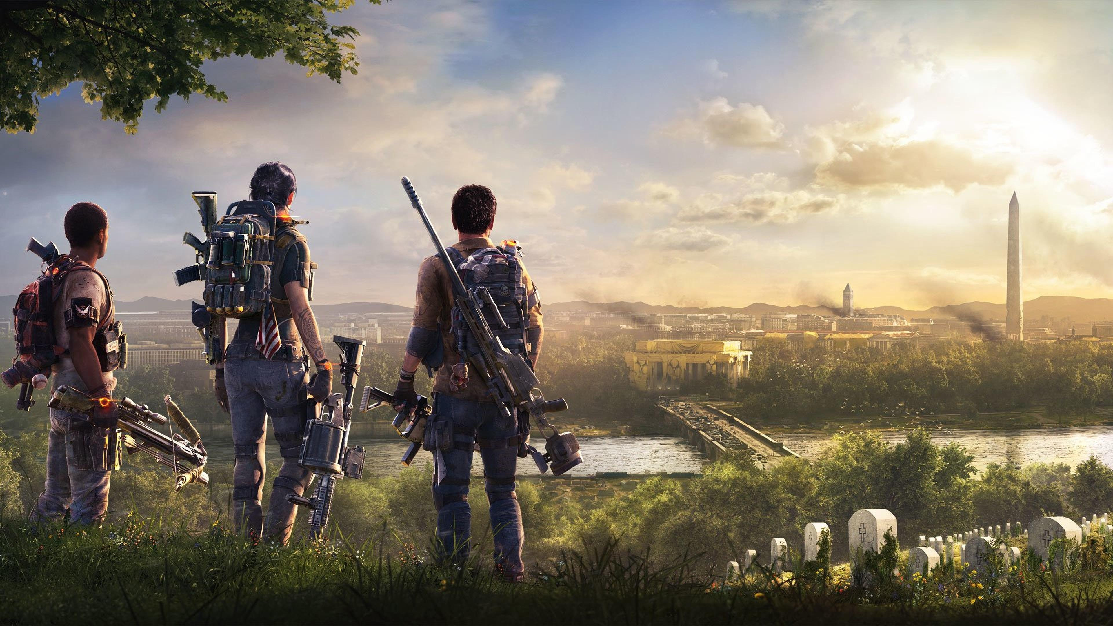 Division 2 Wallpapers Wallpaper Cave