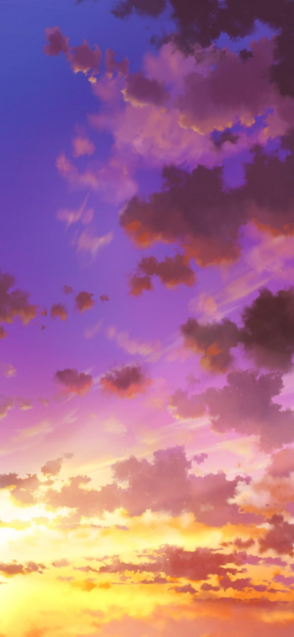 Pink Anime Clouds Wallpapers Wallpaper Cave