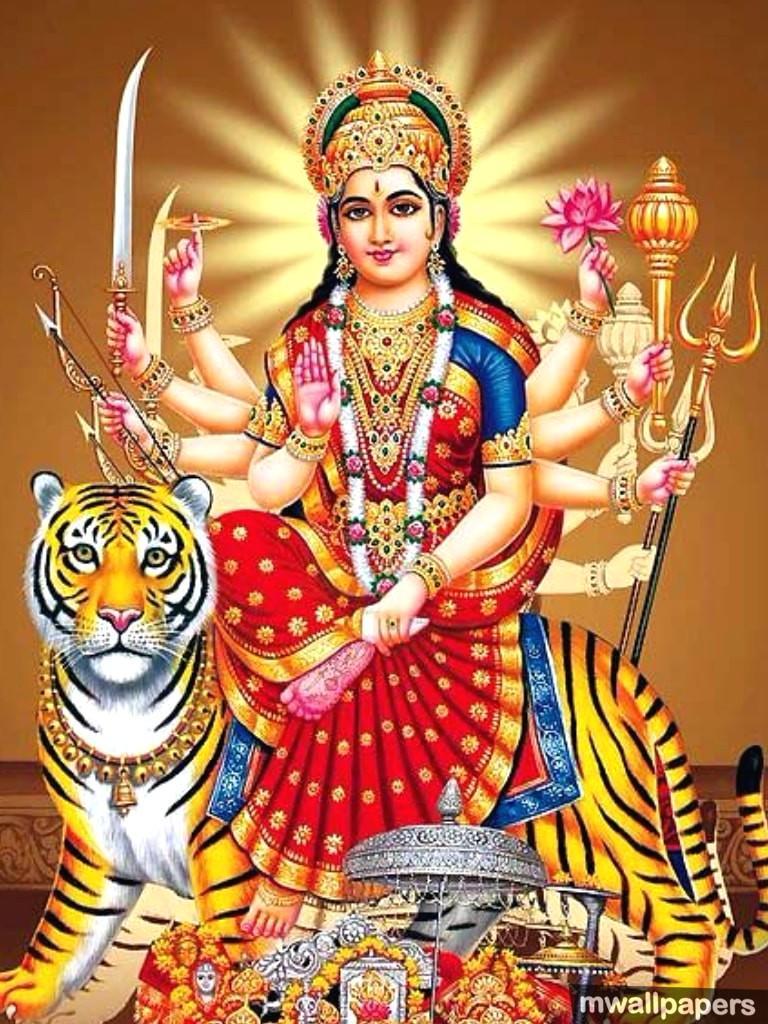 Hd Mobile God Durga Wallpapers Wallpaper Cave