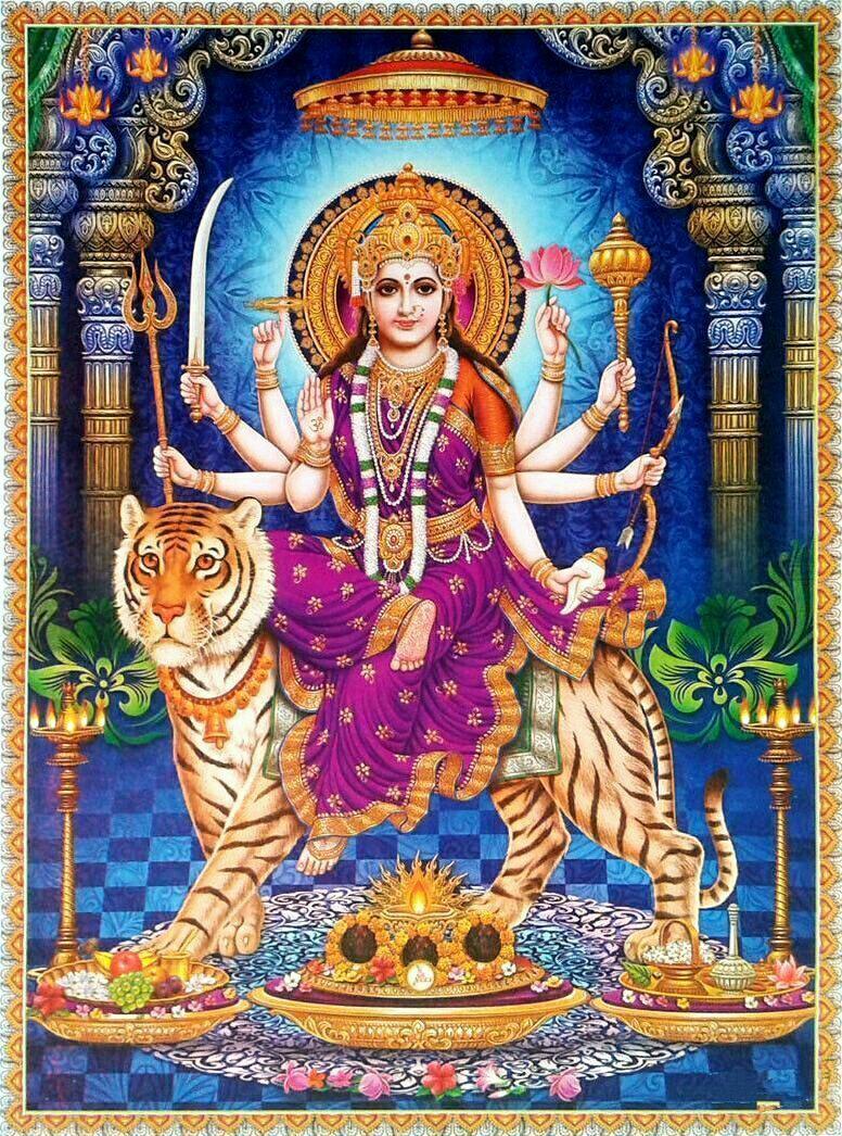 Durga Maa Full Hd Mobile Hd Wallpapers Wallpaper Cave