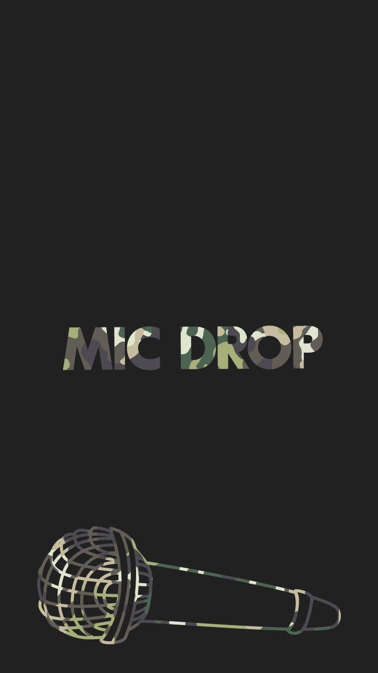 Bts Mic Drop Lyric Wallpapers Wallpaper Cave