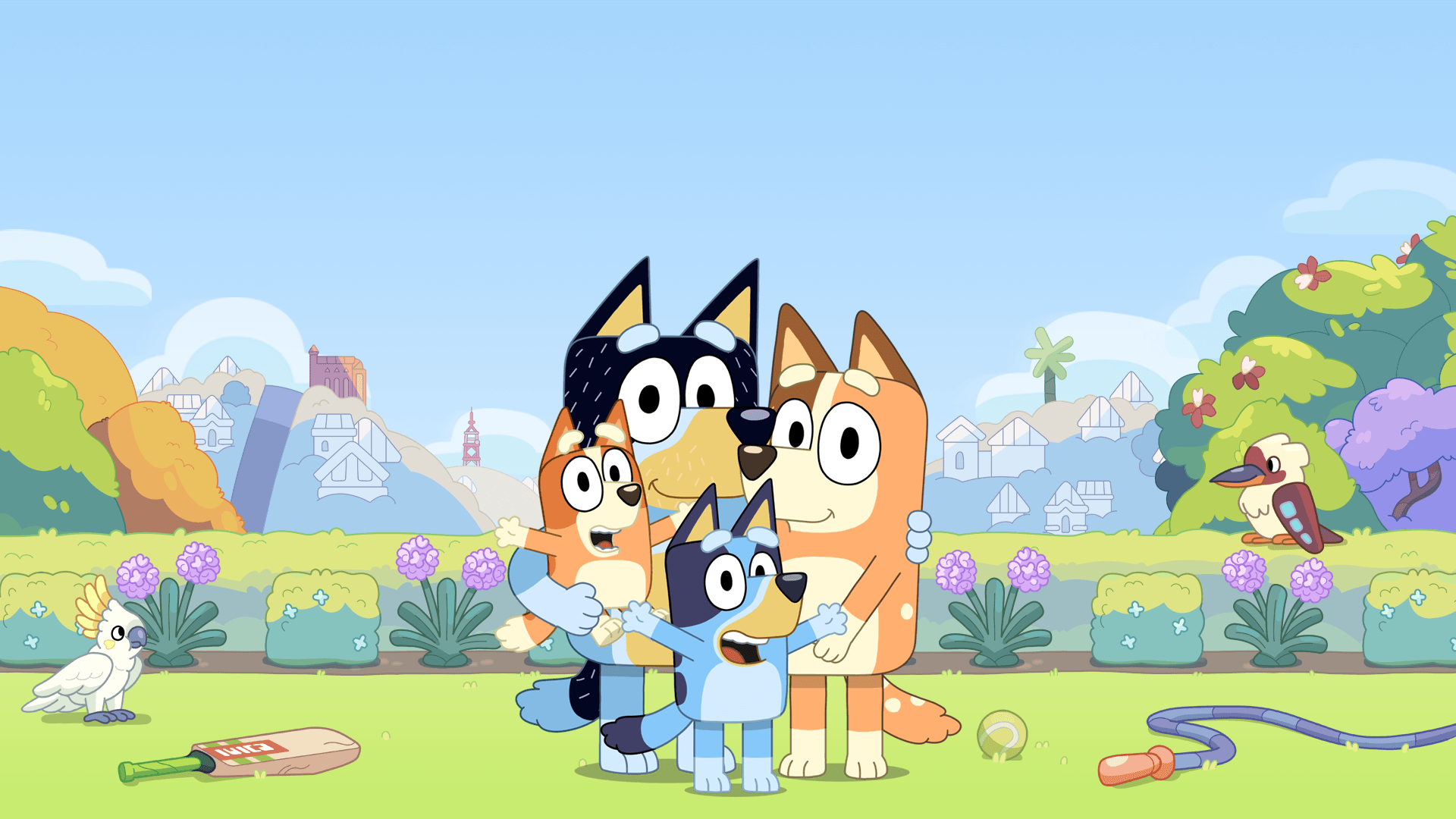 Bluey Zoom Background 3