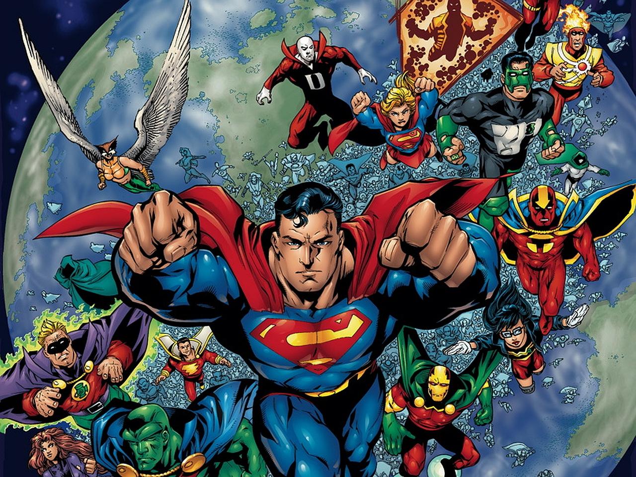 Justice League Unlimited Desktop Wallpapers - Wallpaper Cave