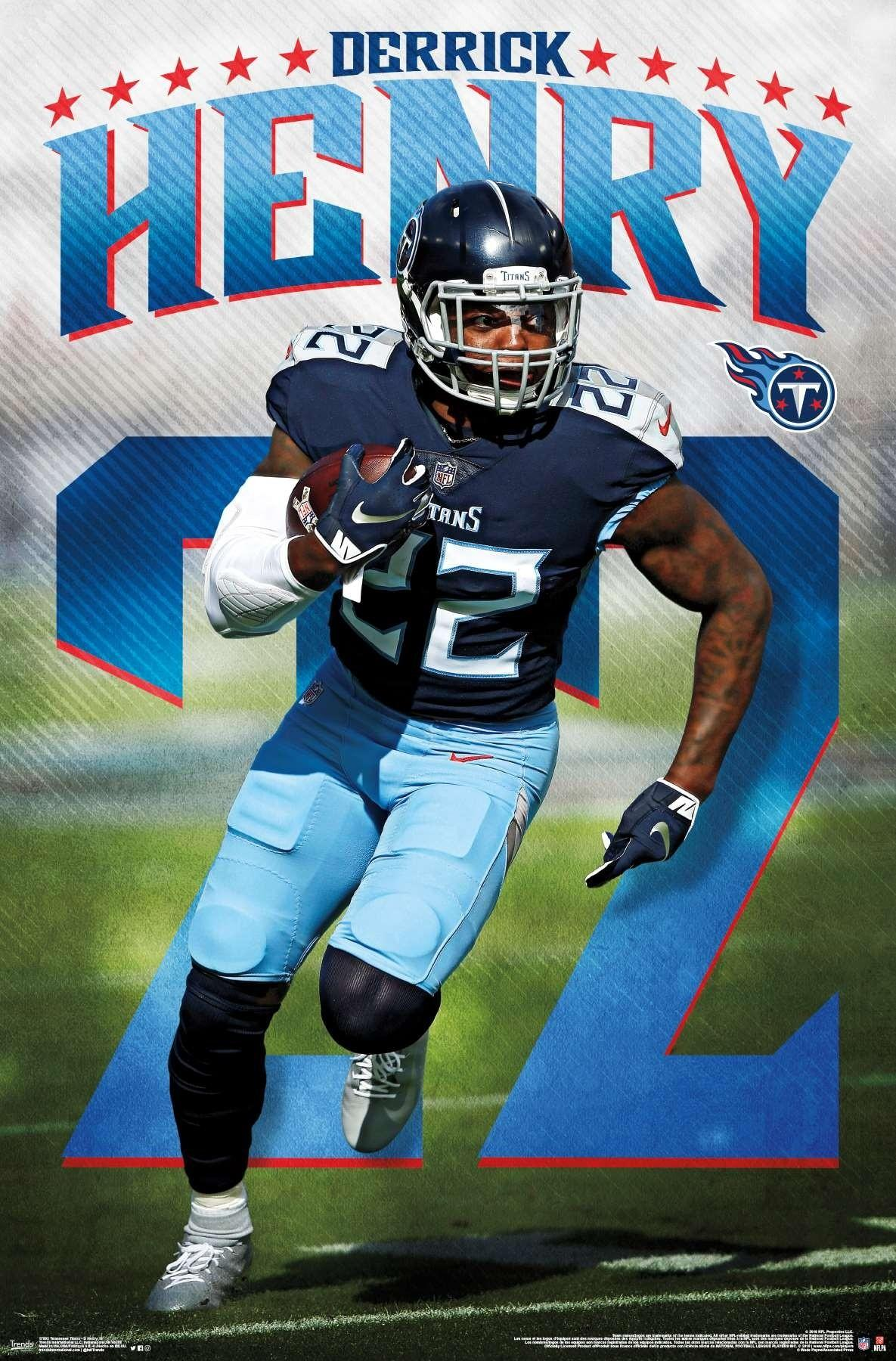 Derrick Henry Titans Wallpapers