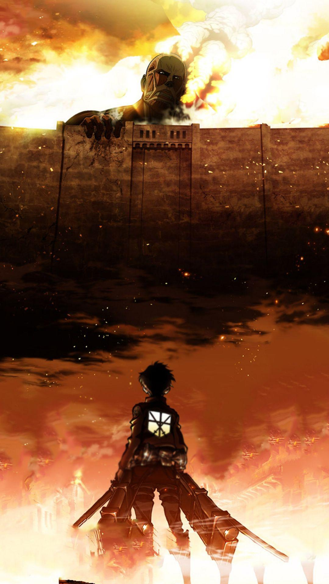 Attack On Titan iPhone Wallpapers - Wallpaper Cave