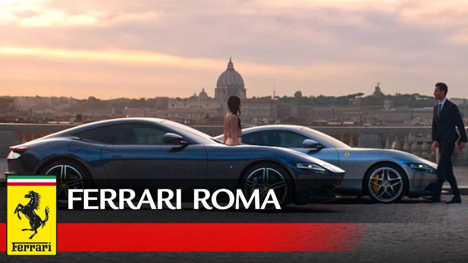 Ferrari Roma Wallpapers Wallpaper Cave