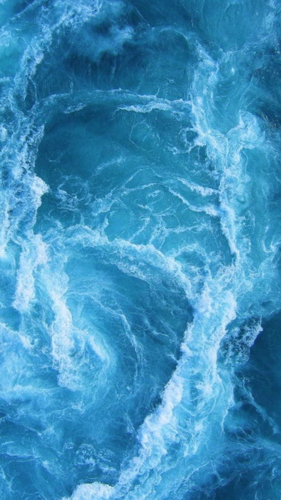 Ocean Water Blue Wallpapers Wallpaper Cave