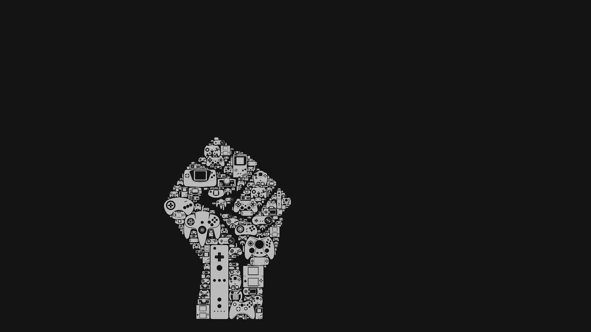 Black Gaming Wallpapers Wallpaper Cave
