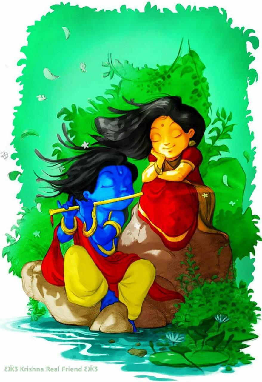 radha krishna cartoon wallpapers wallpaper cave radha krishna cartoon wallpapers