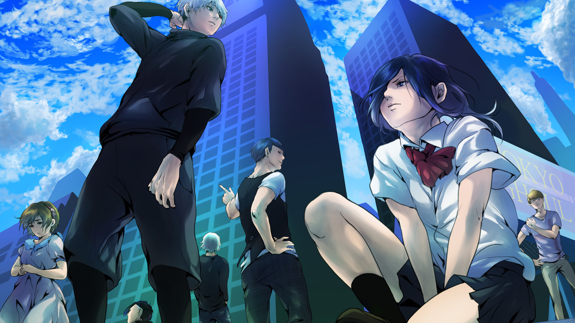 Tokyo Ghoul Anime Wallpapers Wallpaper Cave
