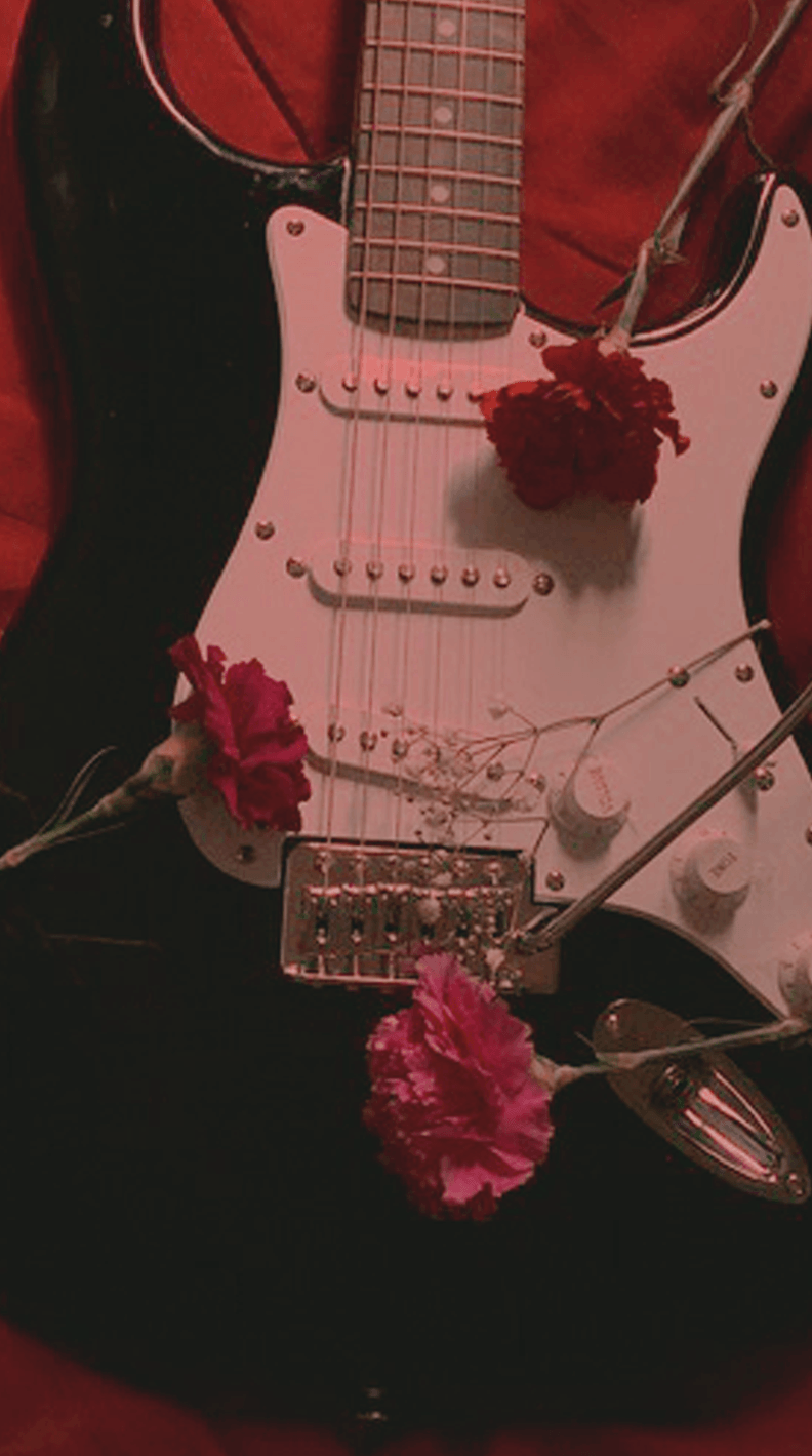 Aesthetic Guitar Wallpapers Wallpaper Cave