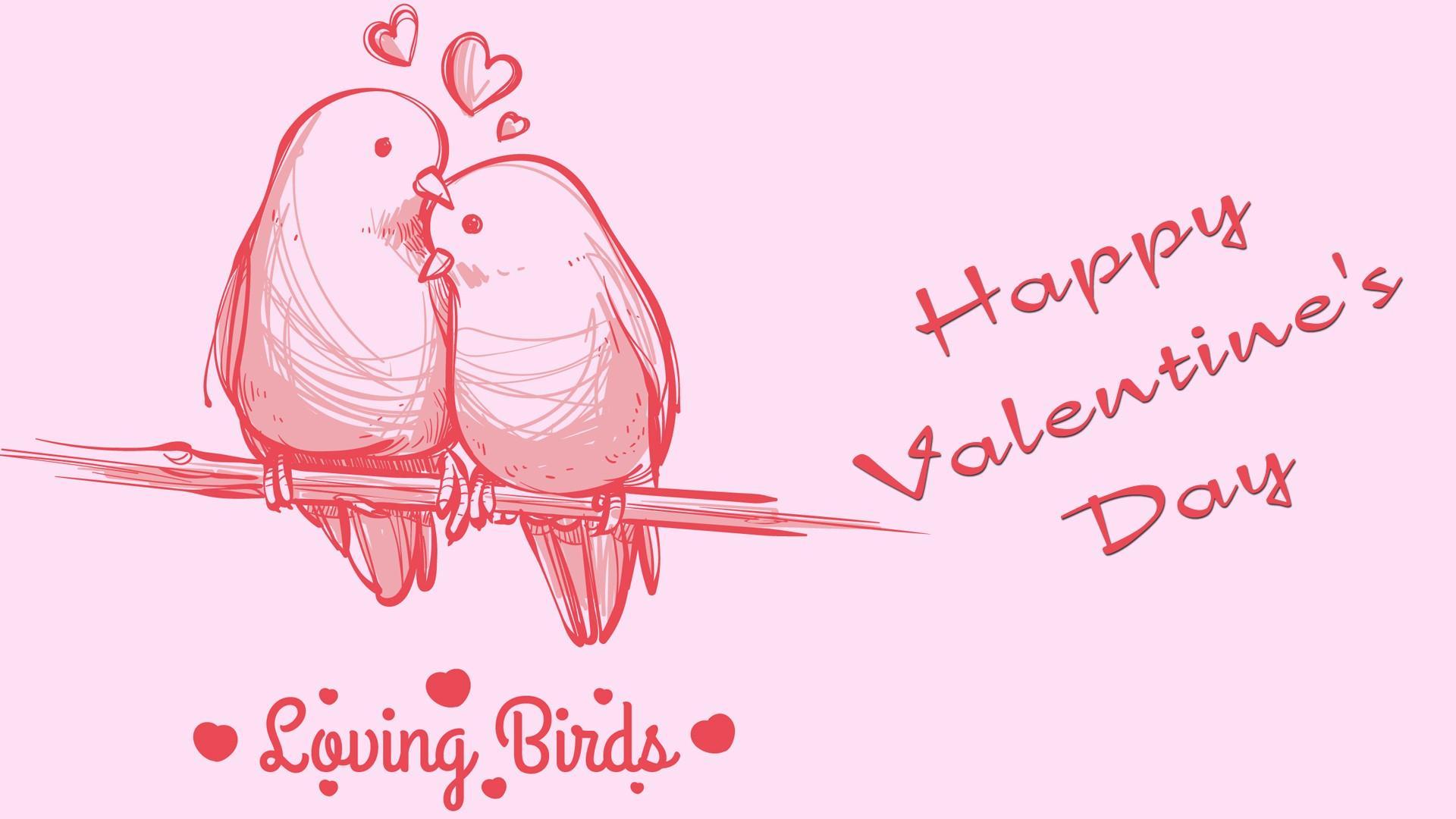 Valentines Bird Wallpapers Wallpaper Cave