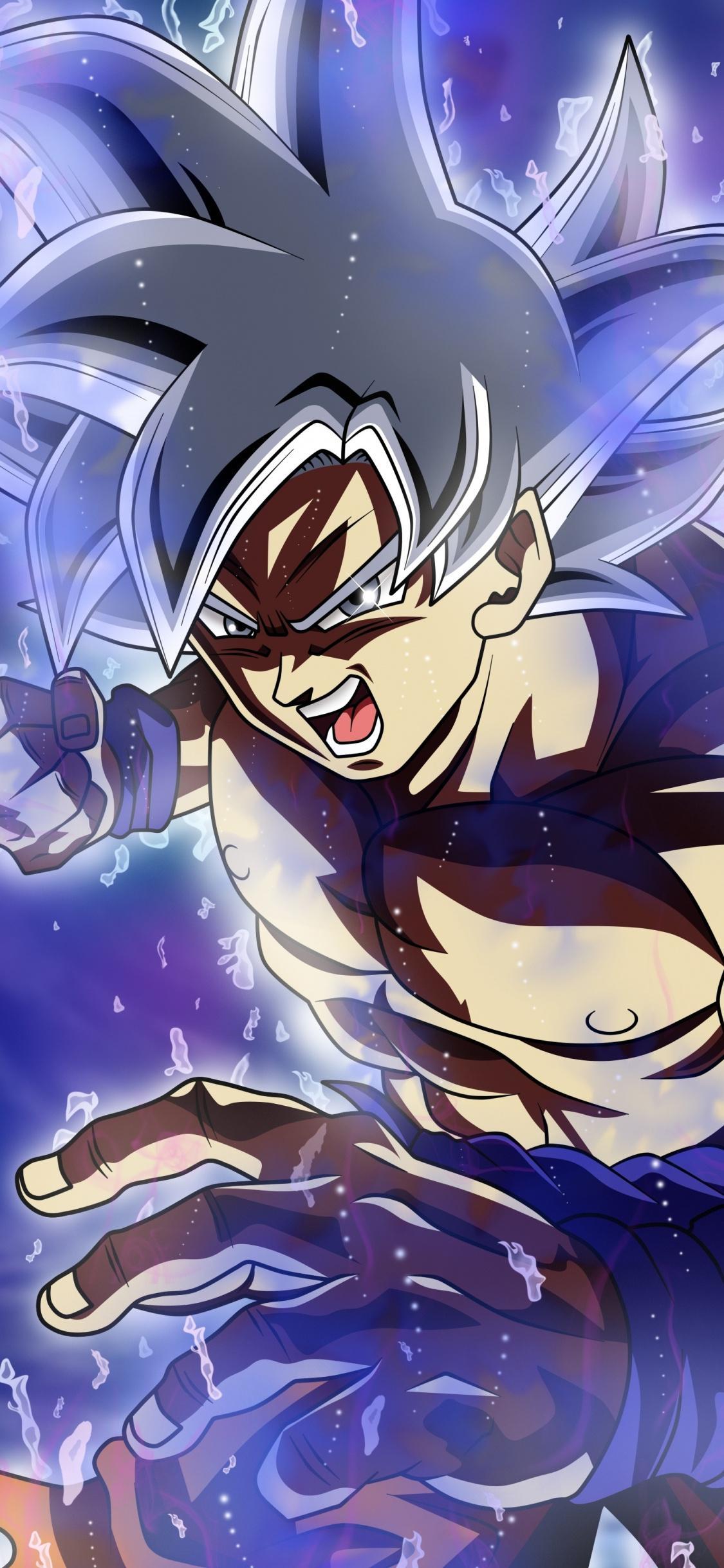 Ultra Instinct Goku iPhone Wallpapers - Wallpaper Cave