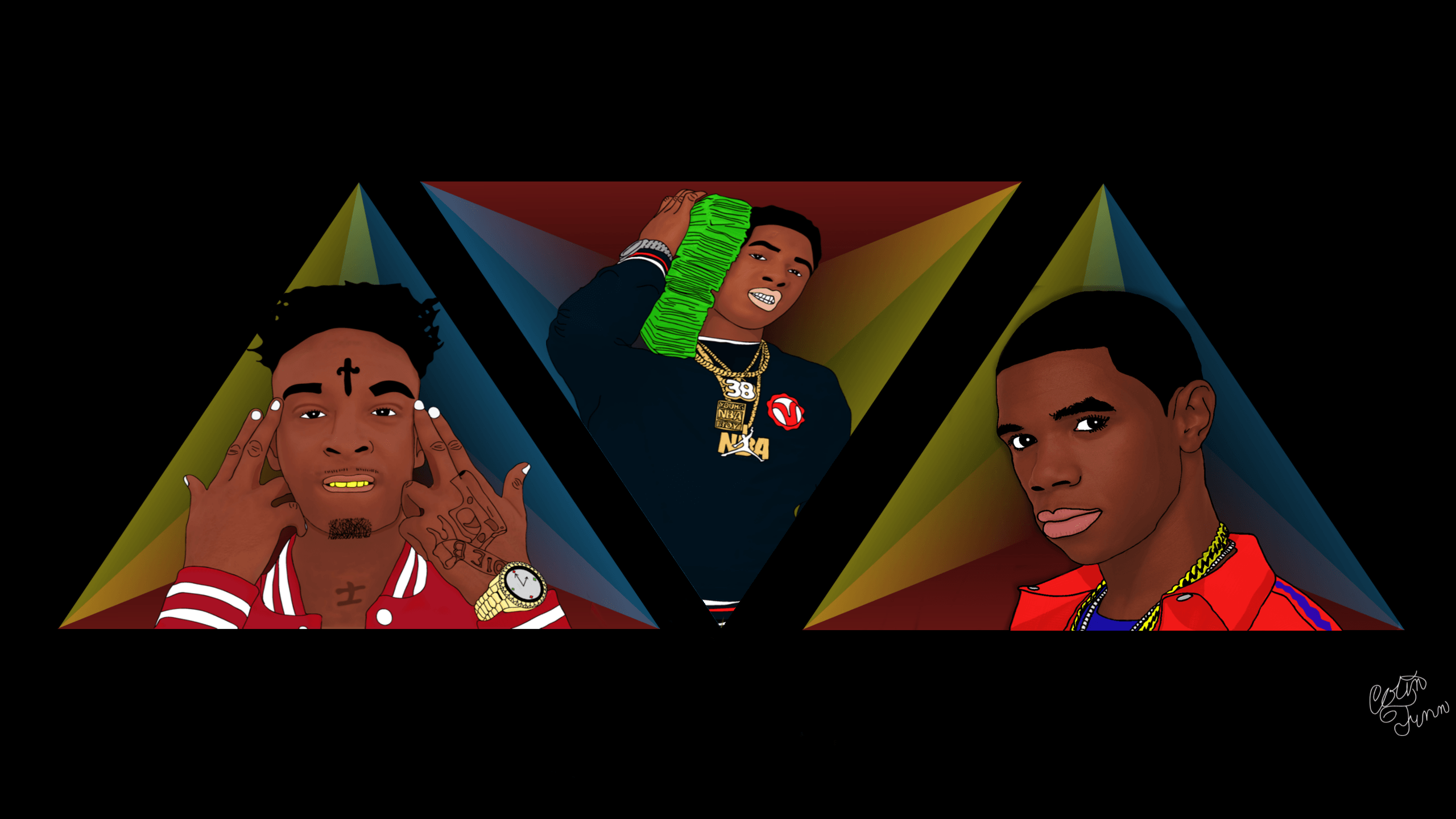 Supreme NBA YoungBoy Wallpapers - Wallpaper Cave