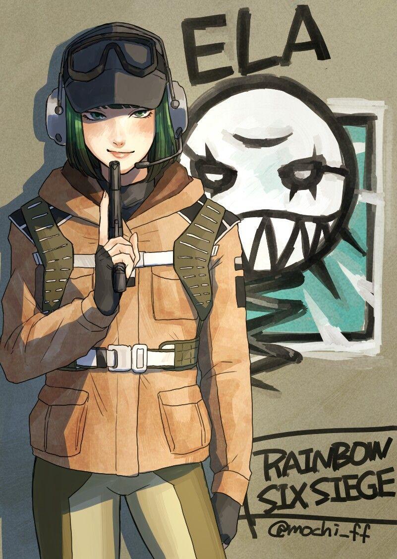 Nackt six ela rainbow siege Rainbow Six