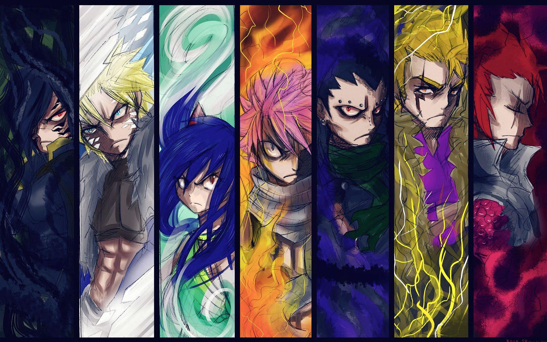 Fairy Tail Dragons Wallpapers Wallpaper Cave