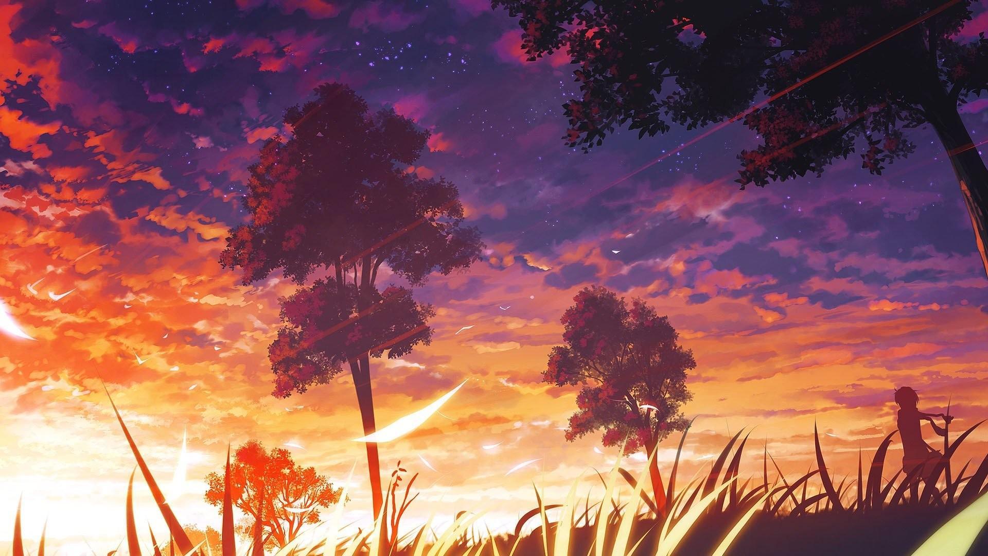 Anime Scenery 4k Wallpapers - Wallpaper ...