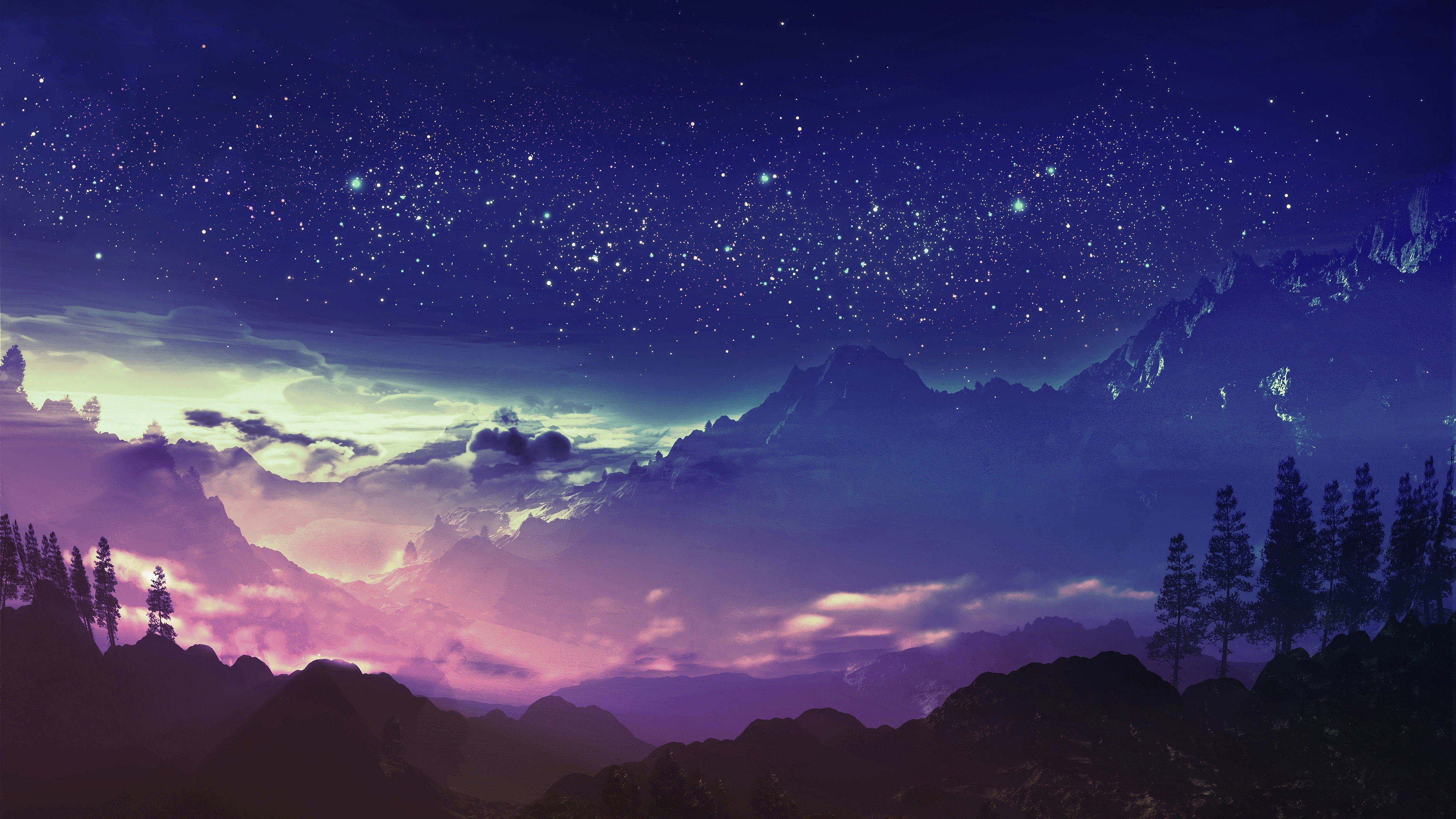 Anime Landscapes 4k Wallpapers - Wallpaper Cave