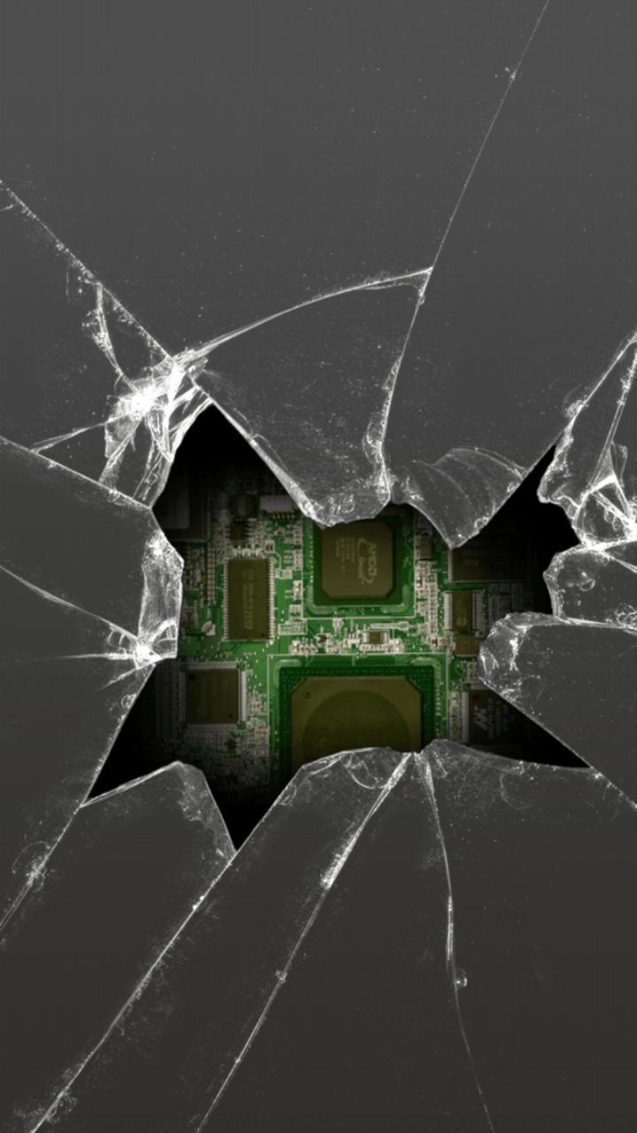 Mobile Broken Screen Wallpapers Wallpaper Cave