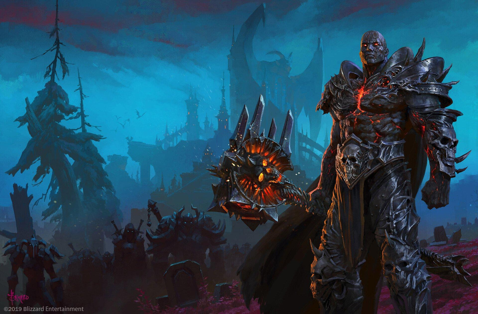 World Of Warcraft Shadowlands Wallpapers Wallpaper Cave