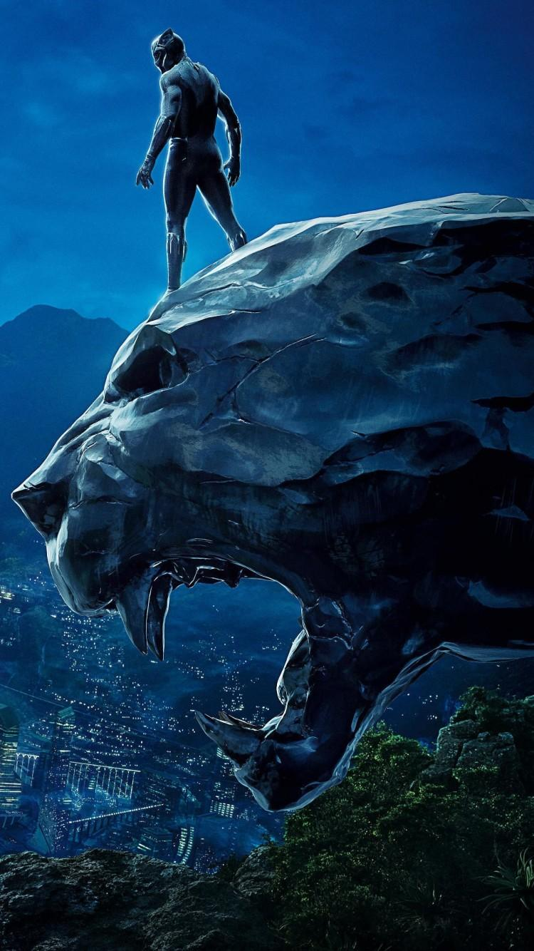 Black Panther Hd Iphone Wallpapers Wallpaper Cave