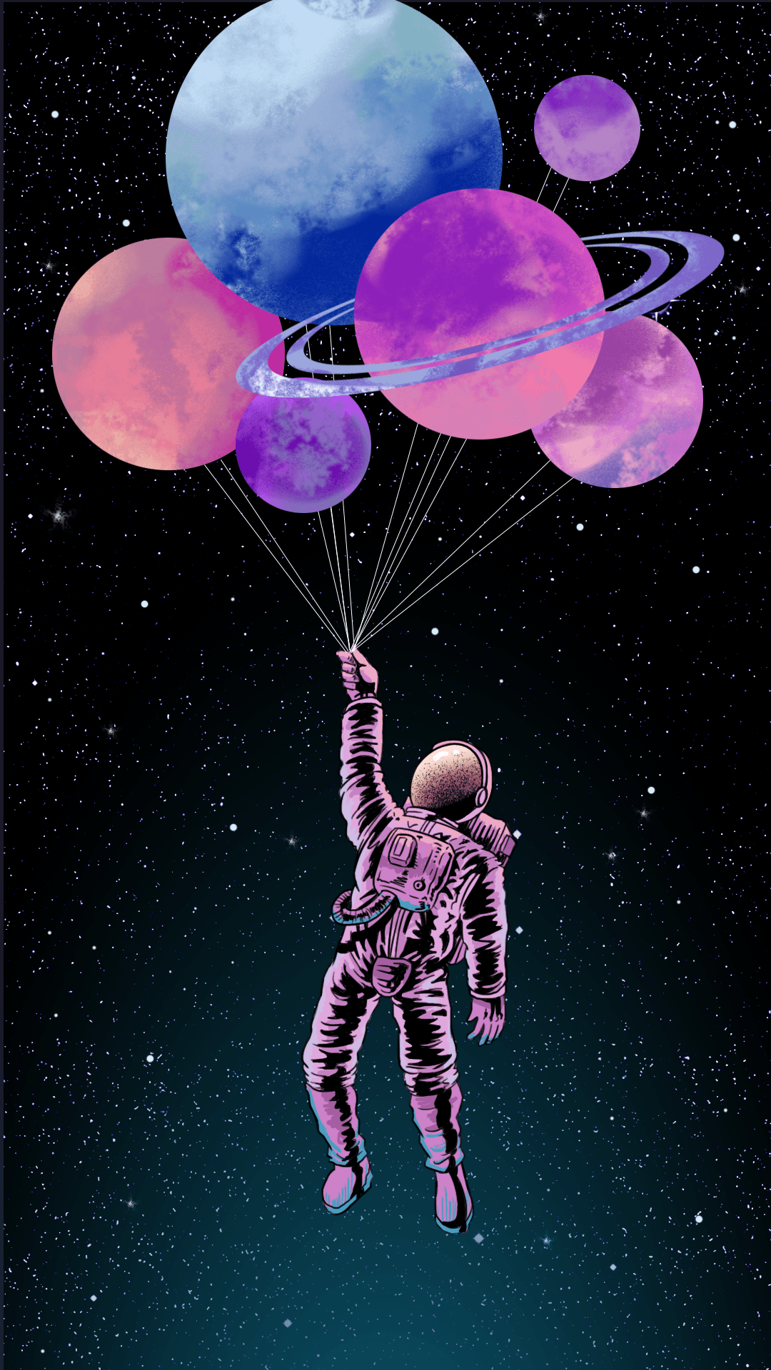 aesthetic astronaut wallpapers
