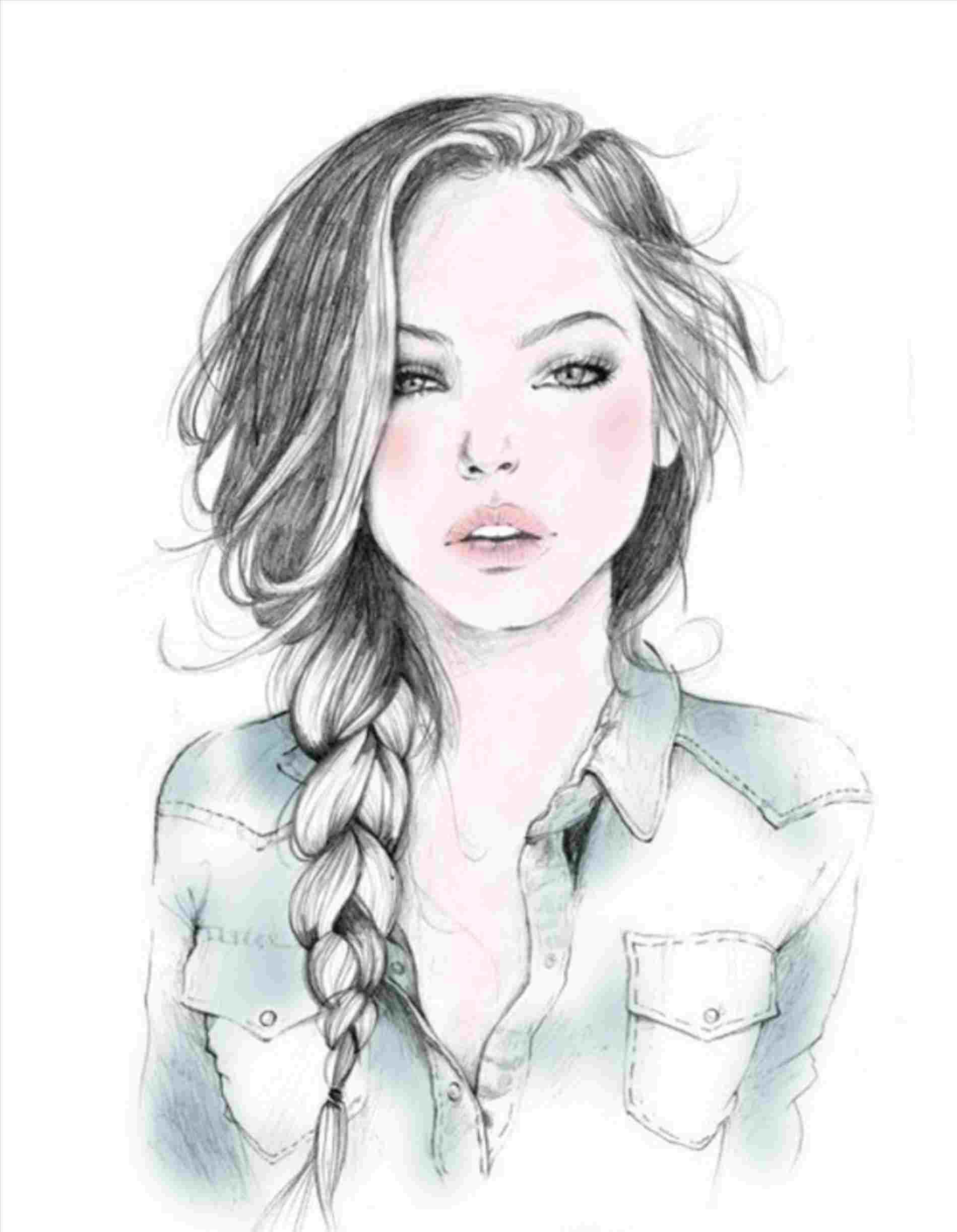 Drawing Ideas For Girls Easy