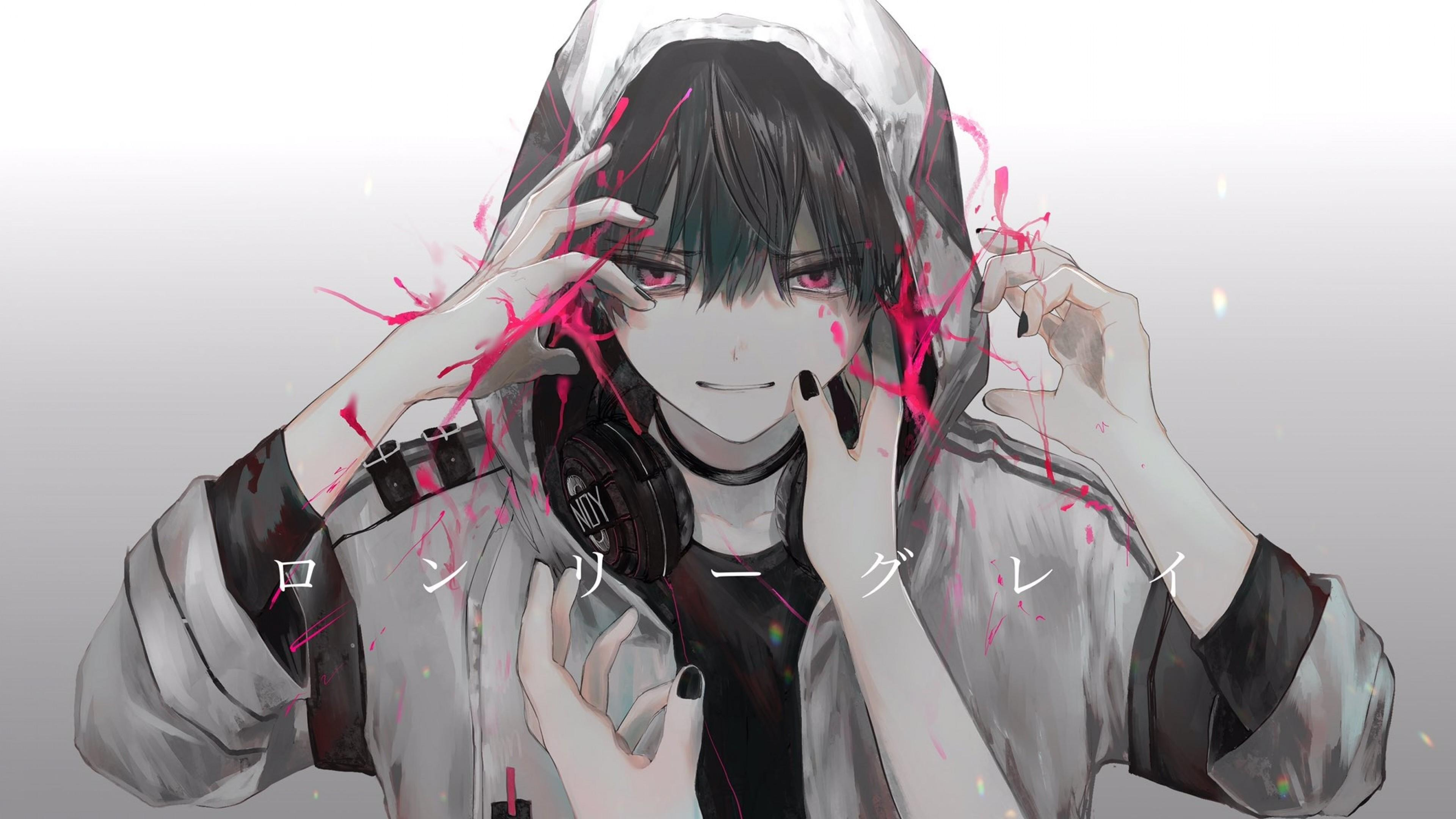Anime Cool Hoodie Wallpapers Wallpaper Cave