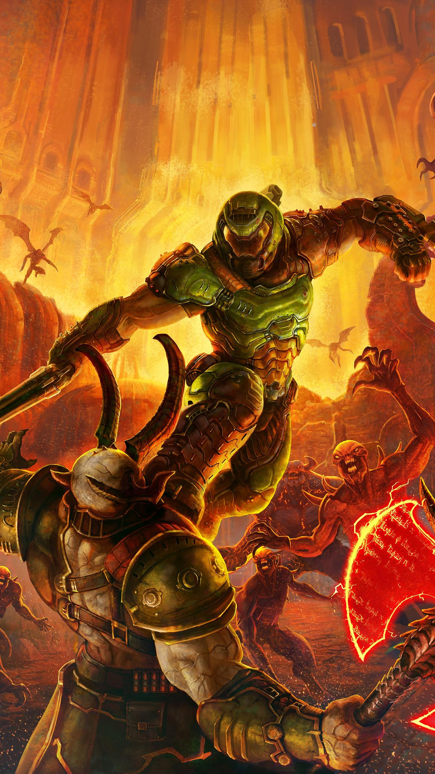 Doom Eternal Android Wallpapers Wallpaper Cave