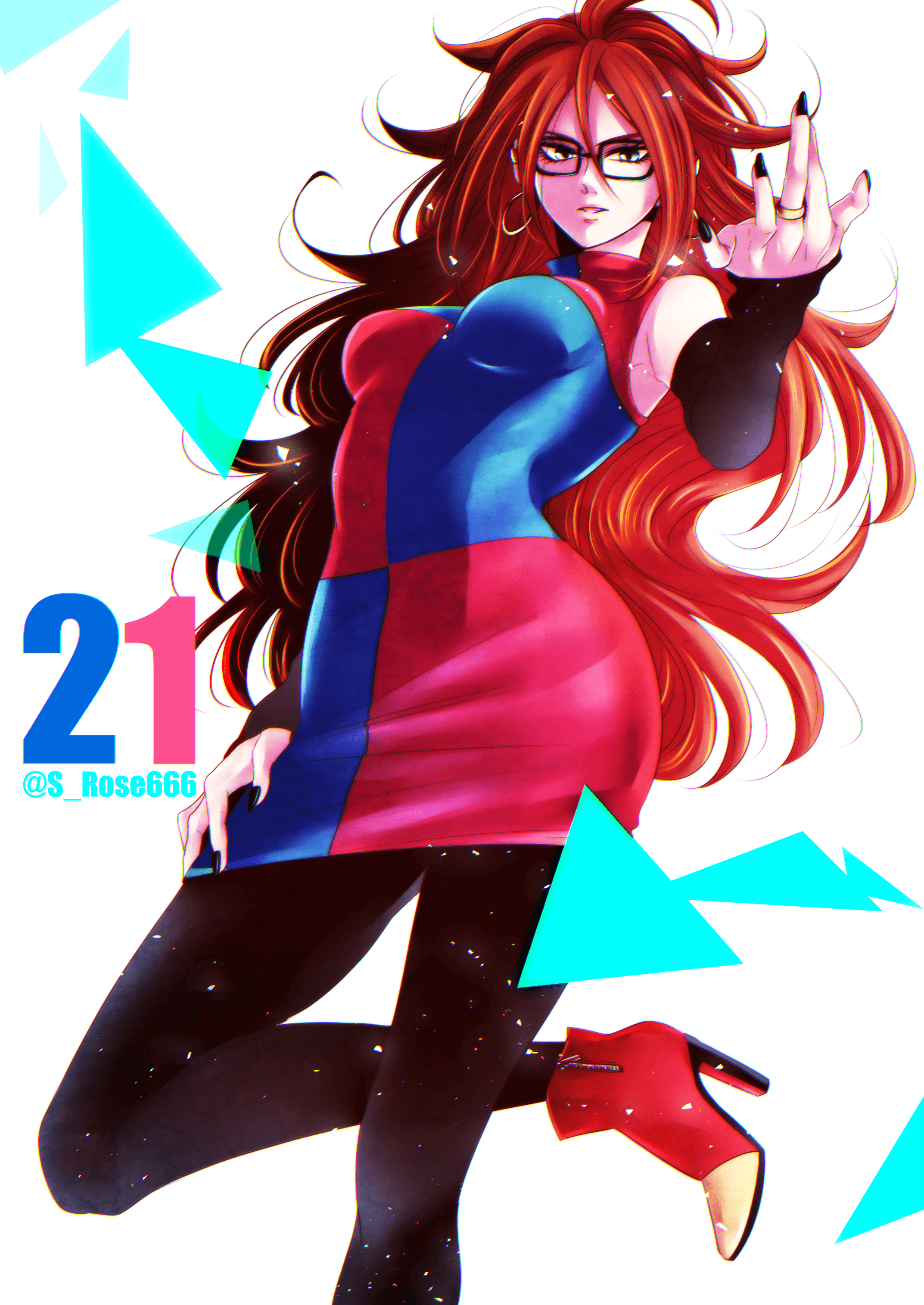Android 21 Brown Hair Wallpapers - Wallpaper Cave