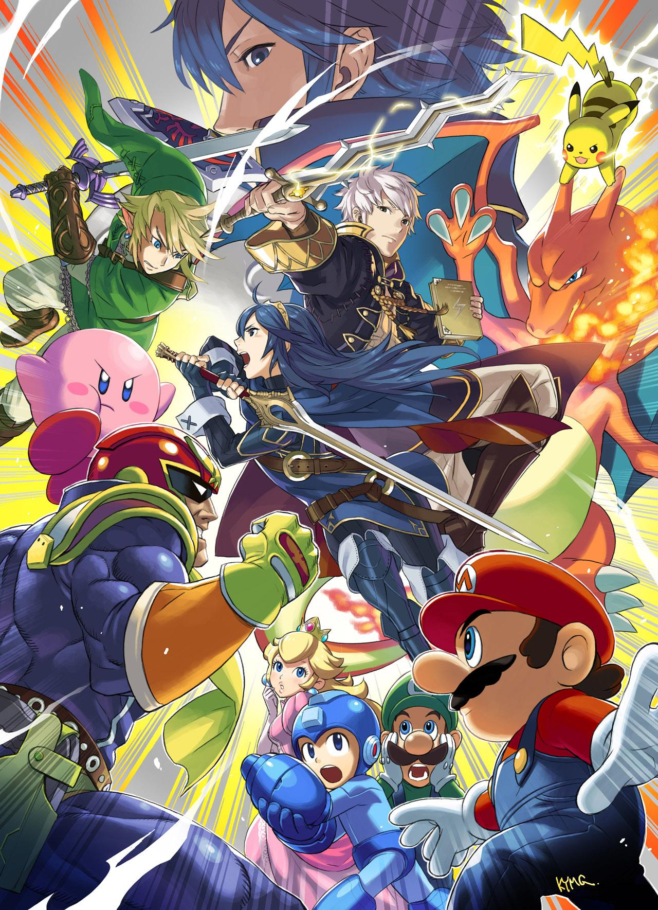 Smash Bros Android Wallpapers Wallpaper Cave