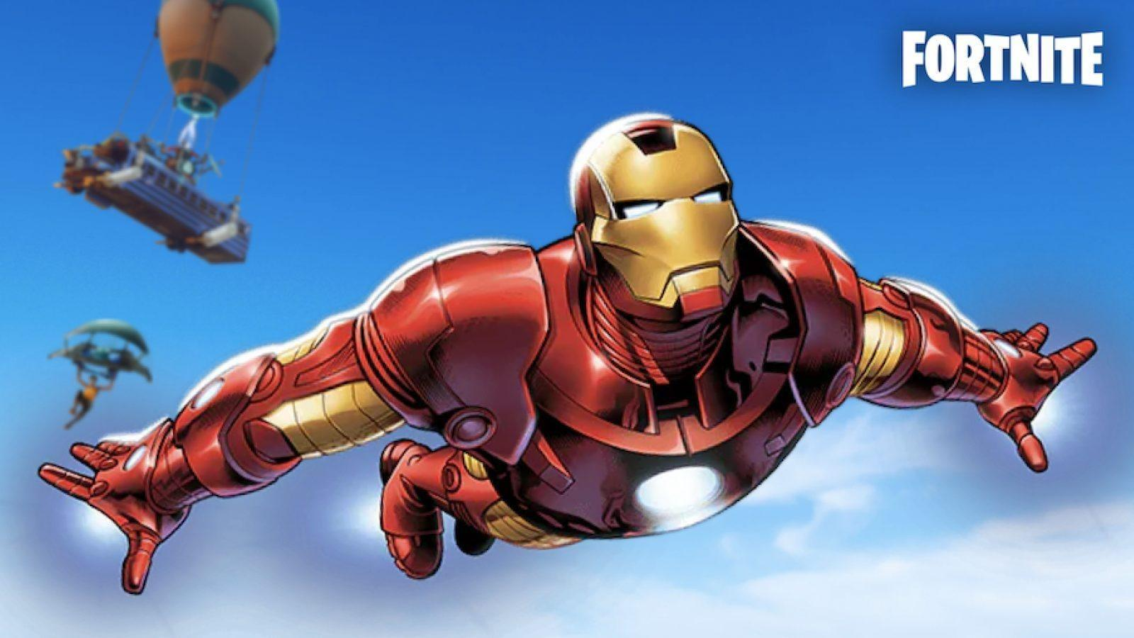 Iron Man Fortnite Wallpapers Wallpaper Cave