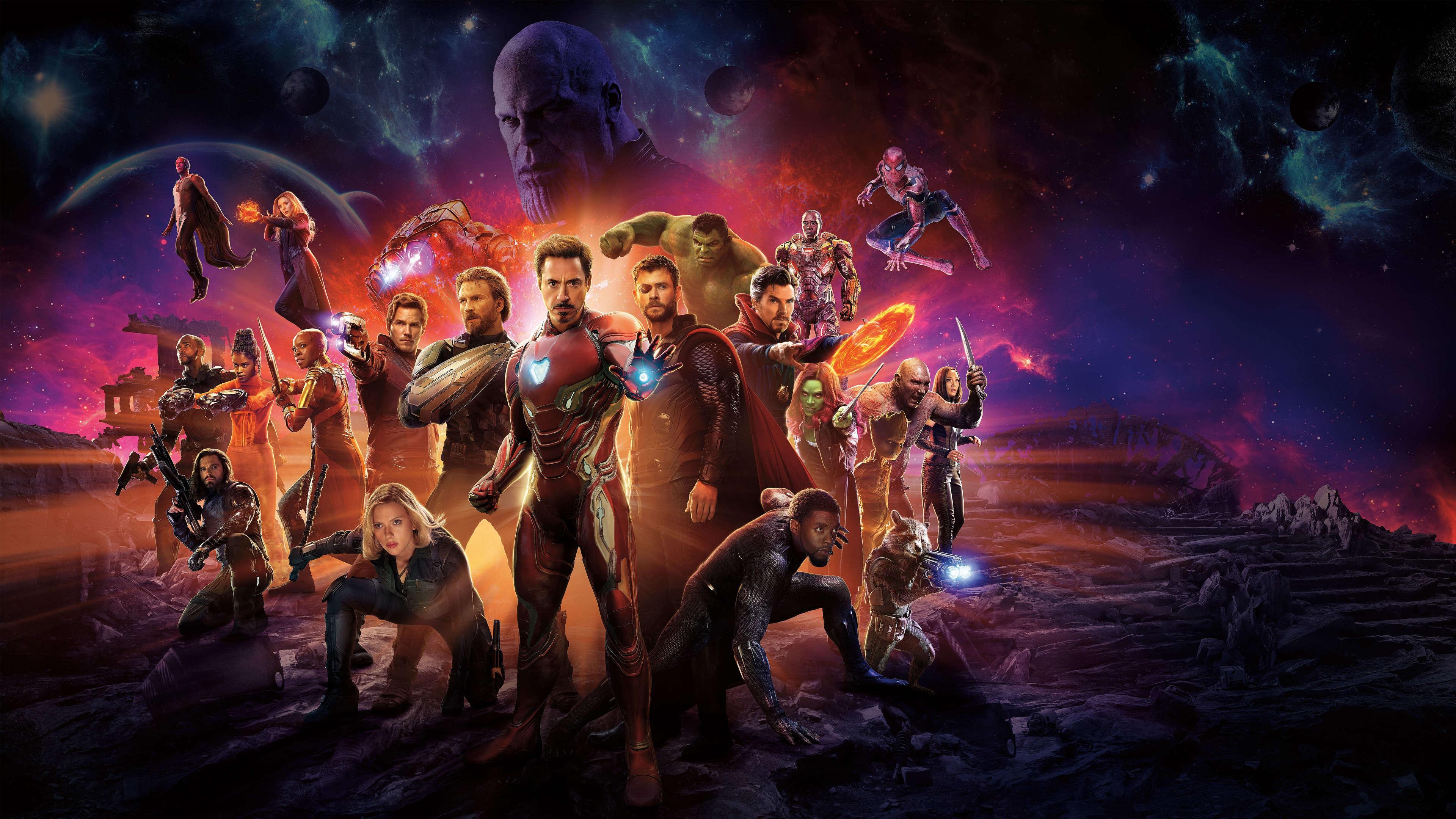Infinity War 4k Wallpapers - Wallpaper Cave